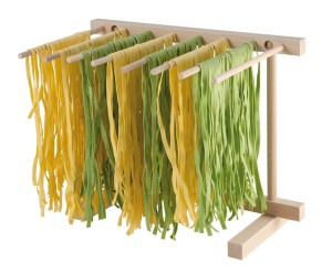 Eppicotispai Natural Beechwood Collapsable Pasta Drying Rack
